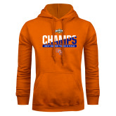 Orange Fleece Hood-Southland Conference Indoor Track and Field Champions