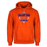 Orange Fleece Hoodie-2017 Southland Conference Baseball Champions