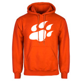 Orange Fleece Hoodie-Secondary Athletics Mark