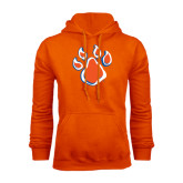 Orange Fleece Hood-Paw