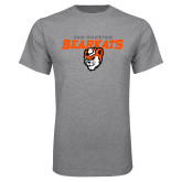 Grey T Shirt-Sam Houston Secondary Mascot Lock Up