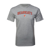 Sport Grey T Shirt-Arched Bearkats w/Paw