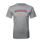 Sport Grey T Shirt-Arched Sam Houston State Bearkats w/Paw