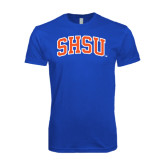 Next Level SoftStyle Royal T Shirt-Arched SHSU