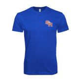 Next Level SoftStyle Royal T Shirt-SH Paw Official Logo