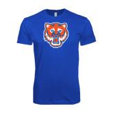 Next Level SoftStyle Royal T Shirt-Bearkat Head