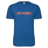 Next Level SoftStyle Royal T Shirt-Sam Houston Bearkats