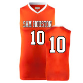 Replica Orange Adult Basketball Jersey-#10