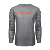 Grey Long Sleeve TShirt-Sam Houston Bearkats