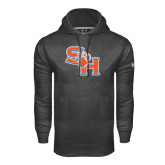 Under Armour Carbon Performance Sweats Team Hood-SH Paw Official Logo