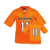 Youth Replica Orange Football Jersey-#11