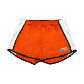 Ladies Orange/White Team Short-Arched SHSU