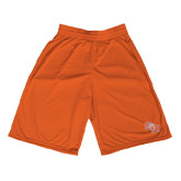Midcourt Performance Orange 11 Inch Game Short-SH Paw Official Logo