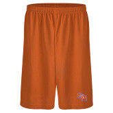 Performance Classic Orange 9 Inch Short-SH Paw Official Logo