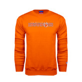 Orange Fleece Crew-Sam Houston Bearkats