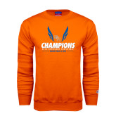 Orange Fleece Crew-2016 Southland Conference Champions Indoor Track & Field
