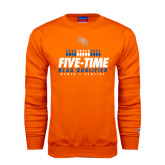 Orange Fleece Crew-Five-Time NCAA Qualifier Womens Bowling