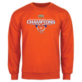 Orange Fleece Crew-2016 Southland Conference Football Champions