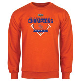 Orange Fleece Crew-2017 Southland Conference Baseball Champions