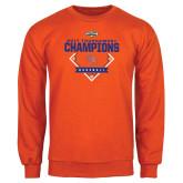 Orange Fleece Crew-2017 Southland Conference Baseball Champions