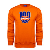 Orange Fleece Crew-100th Football Season