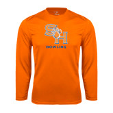 Syntrel Performance Orange Longsleeve Shirt-Bowling