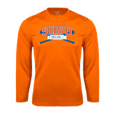Syntrel Performance Orange Longsleeve Shirt-Baseball Bats