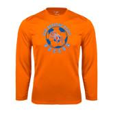 Syntrel Performance Orange Longsleeve Shirt-Soccer Circle