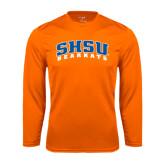 Syntrel Performance Orange Longsleeve Shirt-Arched SHSU Bearkats