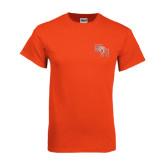 Orange T Shirt-SH Paw Official Logo