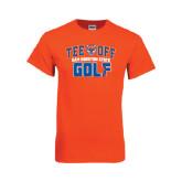 Orange T Shirt-Golf Tee Off