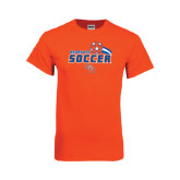 Orange T Shirt-Soccer Swoosh