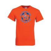 Orange T Shirt-Soccer Circle