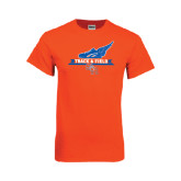 Orange T Shirt-Track and Field Side Design