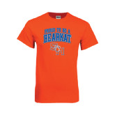 Orange T Shirt-Proud To Be A Bearkat Arched
