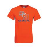 Orange T Shirt-Grandpa