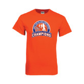 Orange T Shirt-Womens Indoor Track and Field Champions