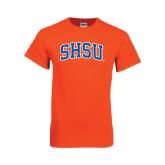 Orange T Shirt-Arched SHSU