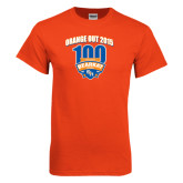Orange T Shirt-100th Football Season w/ Arched Headline