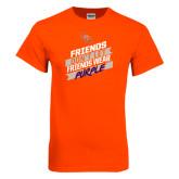Orange T Shirt-Friends Dont Let Friends Wear Purple