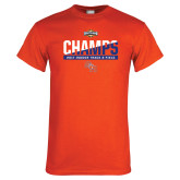 Orange T Shirt-Southland Conference Indoor Track and Field Champions