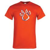 Orange T Shirt-Paw