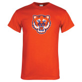 Orange T Shirt-Bearkat Head
