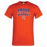 Orange T Shirt-Proud to be a Bearkat