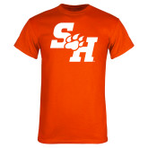 Orange T Shirt-Primary Athletics Mark