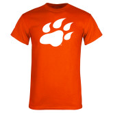 Orange T Shirt-Secondary Athletics Mark