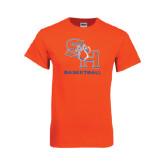 Orange T Shirt-Basketball