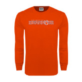 Orange Long Sleeve T Shirt-Sam Houston Bearkats