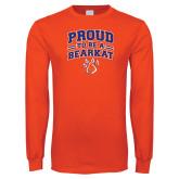 Orange Long Sleeve T Shirt-Proud to be a Bearkat