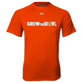 Under Armour Orange Tech Tee-Grow the Growl Horizontal